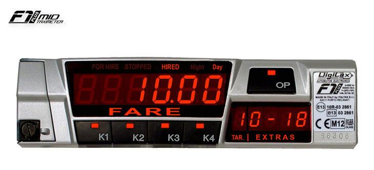 PR Taco Speed - DIGITAX Taximeters